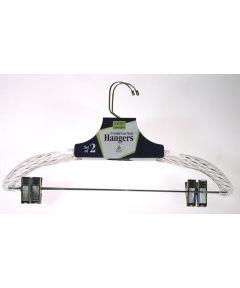 Crystal Cut Suit Hangers, 2 Pack