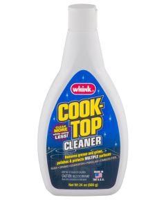 Cook Top Cleaner, 24 oz Bottle, Blue/Green Viscous Liquid