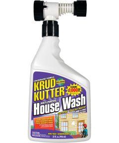 Krud Kutter House Wash Cleaner, 32 oz., Bottle, Clear, Liquid