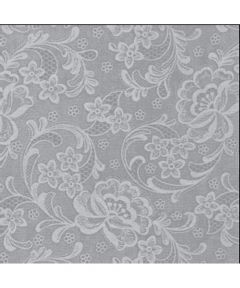 54 in. White Lace Vinyl (Sold Per Foot)
