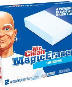 Mr Clean Multi-Purpose Magic Eraser 4.6 in. (L) x 2.6 in. (W) x 1 in. (T)