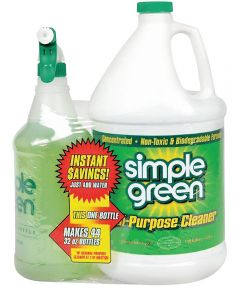 1 Gallon Simple Green All-Purpose Concentrated Cleaner with Bonus 32 Oz. Spray Bottle