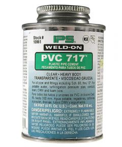 Weld-On 717 PVC Solvent