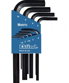 Metric Short Series Hex-L Key Set 9 Count