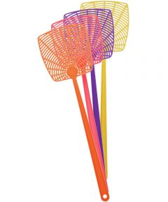 Plastic Fly Swatter, Assorted Colors