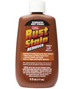 Acid Based Rust Stain Remover, 6 oz., Bottle, Liquid, Clear, Acrid