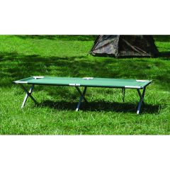 Texsport Deluxe Folding Camping Cot, Forest Green