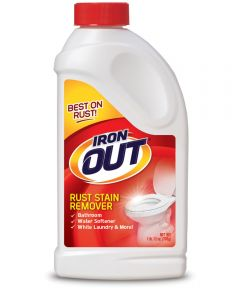 Super Iron Out Rust Stain Remover, 28 oz., Bottle, White, Powder, Solid, Characteristic