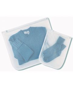 Set Of 2 Mesh Wash Bags