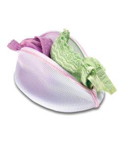 White Mesh Bra Washing Bag