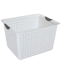 Deep Ultra Basket, White