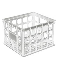 Storage Crate White