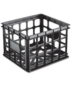 Sterilite Storage Crate, Black