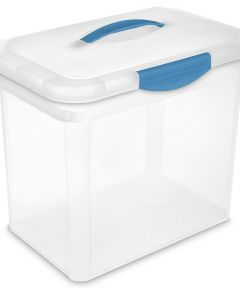 Sterilite Large ShowOffs Storage Container, Clear
