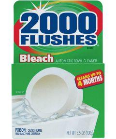 2000 Flushes Toilet Bowl Cleaner, 1.75 oz Tablet, Off-White Tablet