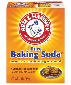 Arm & Hammer Pure Baking Soda, 16 oz., Box, White