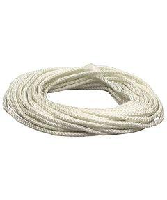 1/8 in. White Nylon Diamond Braid Rope (Sold Per Foot)