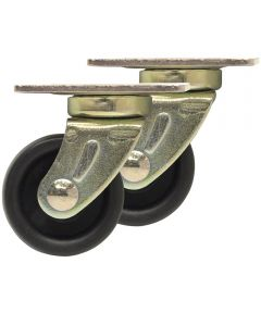1-1/4 in. Swivel Plate Roller Caster 2 Count