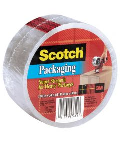 1.88 in. x 54.6 Yards Clear Scotch Packaging Tape