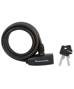 6 ft. x 5/16 in. Black Keyed Cable Lock