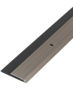 36 in. Satin Nickel Heavy Duty Aluminum & Vinyl