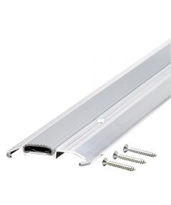 36 in. Aluminum Low Boy Thresholds With Vinyl Seal Aluminum
