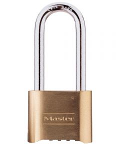 2-1/4 in. Resettable Brass Combination Padlock