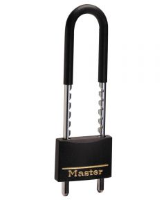 2 in. Wide Covered Solid Body Padlock with Adjustable Shackle