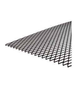 Black Weldable Expanded Steel 1/2X24X30