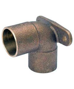1/2 in. Copper 90 Degree Drop Ear Elbow, C x C
