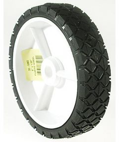 8 in. x 1.75 in. Plastic Lawn Mower  Wheel