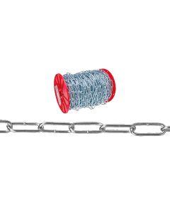 Handy Link Chain, 255 lb, Low Carbon Steel (Sold Per Foot)