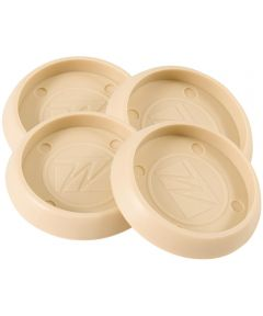1-3/4 in. Almond Round Caster Cups 4 Count