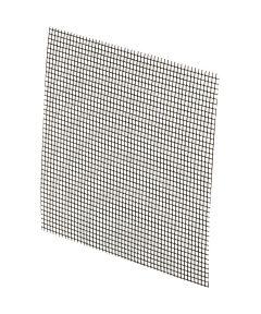in.Stick-on in. Fiberglass Screen Repair Kit. 3 in. x 3 in., Charcoal,  5 per card.