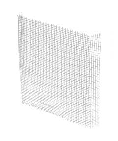 Aluminum Window Screen Patch Kit, Silver, 3 in. x 3 in., 5 per bag