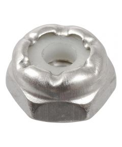 18-8 Stainless Steel Nylon Insert USS Coarse Stop Nut #6-32