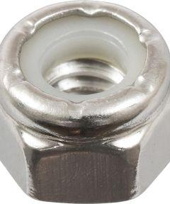 18-8 Stainless Steel Nylon Insert USS Coarse Stop Nut 1/4-20