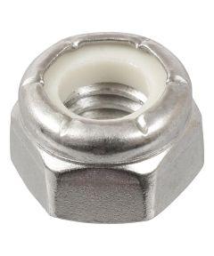 18-8 Stainless Steel Nylon Insert USS Coarse Stop Nut 5/16-18