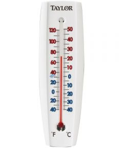 Weather Resistant Easy-To-Read Window/Wall Thermometer, -40 to 120 degree F
