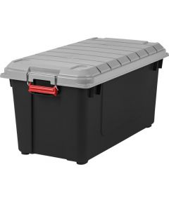 Store-It-All WEATHERTIGHT Storage Tote, Gray, 81.6 Qt / 20.4 Gal.