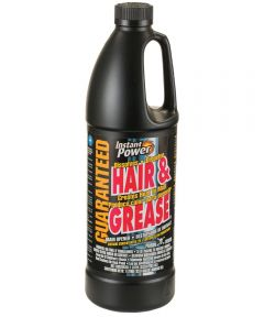 Instant Power Hair and Grease Drain Opener, 1 l, Liquid