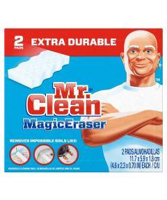 Mr Clean Heavy Duty Extra Power Magic Eraser 11.75 cm L x 5.9 cm W x 1.8 cm T