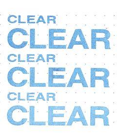 "4' X 18"" Clear Storage Liner"