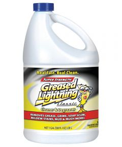 Greased Lightning Multi-Purpose Cleaner/Degreaser, 128 oz., Clear Liquid
