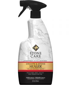 Stone Surface Sealer, 1 qt, Bottle, Liquid