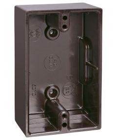 Brown Single Deep Gang Box