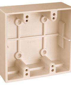 Ivory Two Gang Boxes