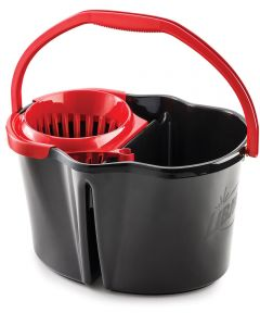 4 Gallon Polyproylene Mop Bucket with Wringer
