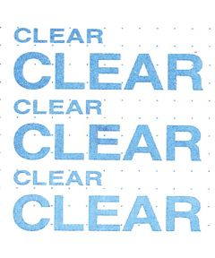 9 ft. x 12 in. Clear Adhesive Magic Cover Liner