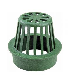 4 in. Atrium Grate, Green
